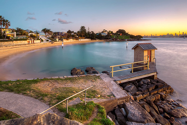 Camp Cove, Watson Bay. Image:  Beck Dunn Photography