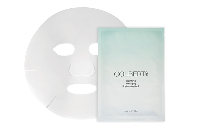 "Colbert MD Illumino Anti-Ageing Brightening Mask: this powerful brightening sheet mask features dermatology go-to ingredient niacinamide which acts to reduce everyone's least favourite skin condition: pigmentation.<p>5 masks (15ml each) $160 <a href=""https://www.mecca.com.au/colbert-md/illumino-anti-ageing-brightening-mask/I-023500.html#q=colbert%2Bmd&amp;start=1"">mecca.com.au</a>&nbsp;</p>"