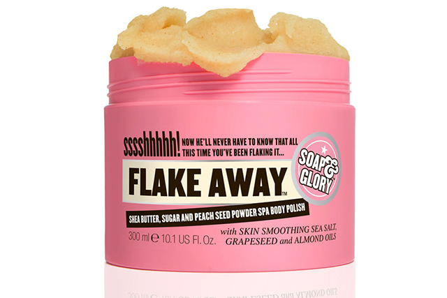 "Soap & Glory Flake Away Spa Body Polish, $13<p><a href=""http://www.mecca.com.au/soap-glory/flake-away-spa-body-polish/I-008917.html?cgpath=brands-soap#start=1"" target=""_blank"">mecca.com.au</a> </p>"