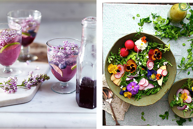 Floral flavoured foods and drinks: according to Whole Foods flowers will be firmly on the menu in 2018. The top trending flavours to look out for (or add to your next dinner party menu) are lavender, elderflower, rose and hibiscus – think rose water drinks and lavender-flavoured desserts.