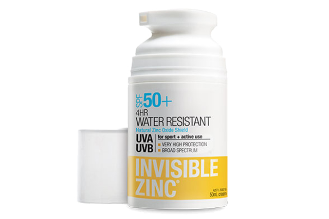 Invisible Zinc: Dermatologists recommend a physical blocking mineral sunscreen containing active zinc and/or titanium dioxide as the best protection against those harsh rays and Invisible Zinc really delivers with zinc oxide the key ingredient. Invisible Zinc SPF 50 from $14.99.