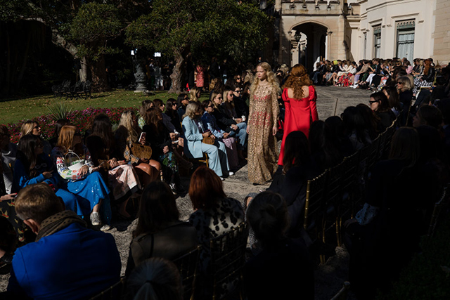 Sydney is blessed with a beautiful climate and MacGraw took full advantage of it, turning the grounds of the palatial Swifts estate in Darling Point, into a fashion runway for their Resort '19 collection.