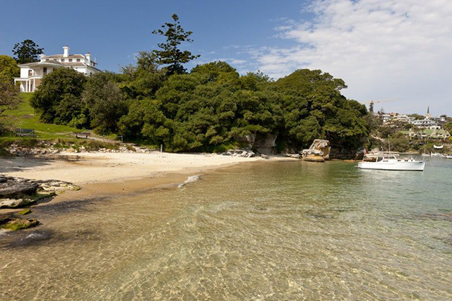 Milk Beach, Vaucluse. Image: Andrew Gregory