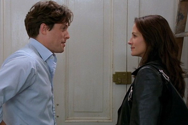 'Notting Hill': The classic romantic conundrum of when a regular Joe (Hugh Grant playing William Thacker) falls in love with a movie star (Julia Roberts as Anna Scott)… Surprisingly relatable, plus the supporting cast are eye-wateringly funny.