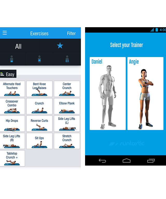 "Runtastic Six Pack Abs Workout, free<p><span style=""font-size: 17px; line-height: 29px;"">Download <a target=""_blank"" href=""https://itunes.apple.com/au/app/runtastic-six-pack-abs-workout/id685857245?mt=8&amp;ign-mpt=uo%3D4"">this app </a>and suddenly, you'll have 50 different video tutorials coaching you to that flat stomach you've always wanted, but never been able to get. The app gives you a 10-week program to follow, with adjustable levels of difficulty plus the option to create custom workouts tailored to your weight loss goals, schedule and target areas.</span></p>