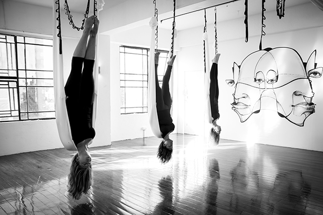 "Sky Lab, Surry Hills: If you like inversions you're going to love Sky Lab, or even if you ever considered joining of circus, you'll enjoy this aerial yoga studio. Offering an elevated yoga practice using ceiling-hung 'hammocks' – it's still yoga but the circus skills version. Don't let the journey to the studio put you off (it's four floors up a graffiti-filled staircase) – it's worth the weightless feeling.<p><a href=""http://www.sky-lab.com/"" style=""font-size: 17px;"">sky-lab.com</a><span style=""font-size: 17px;""> </span></p>"