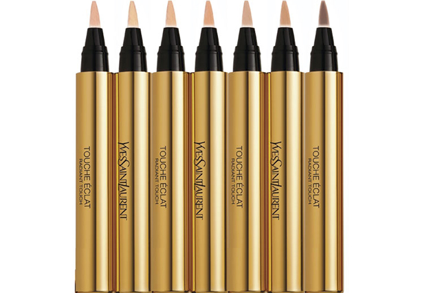 "Yves Saint Laurent Touche Eclat, $59: The original highlighting concealer pen, Touche Eclat (that's Radiant Touch for English speakers) belongs in every woman's make-up bag. Case closed.<p><a href=""http://www.myer.com.au/shop/mystore/touche-eclat--radiant-touch-602328460"">myer.com.au</a></p>"