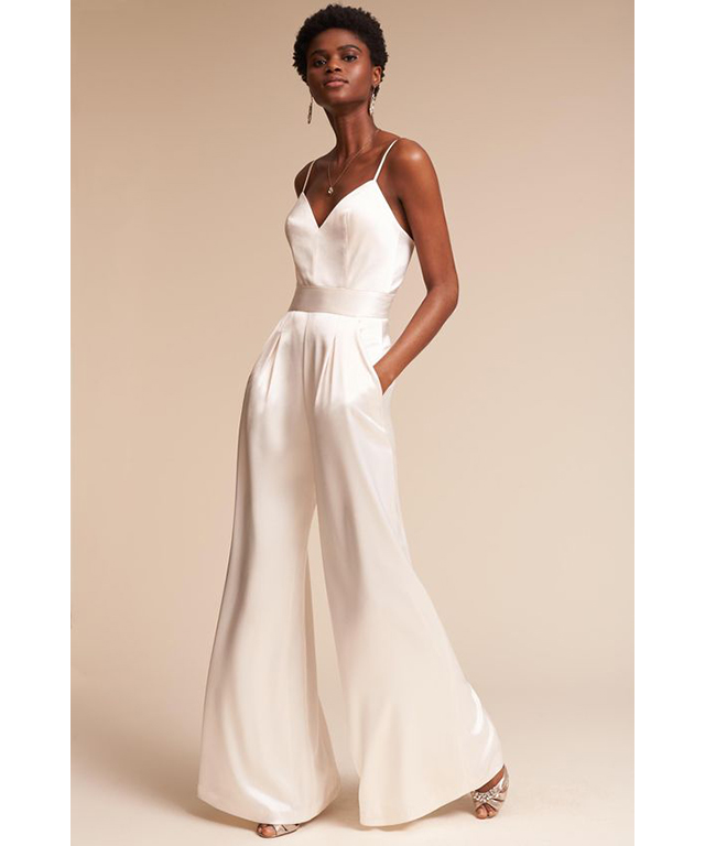 Wedding style: jumpsuits. Image: Pinterest/BHLDN Weddings