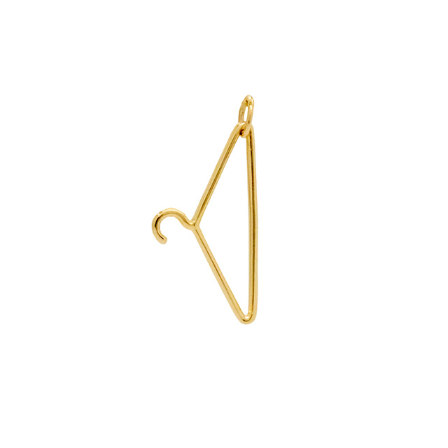 The first ever SARAH & SEBASTIAN ring created was inspired by a friend's tattoo of a coat  hanger.