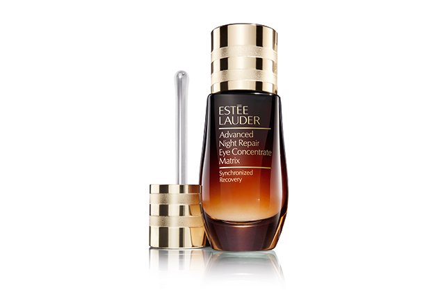 "1.	Estée Lauder Advanced Night Repair Eye Concentrate Matrix, $115. The latest release from Estée Lauder's cult ANR range uses innovative 360° Matrix Technology™ to plump the skin around the eyes and deliver long-lasting moisture for up to 24 hours. Thanks to research about repetitive eye micro-movements, the lightweight hyaluronic acid formula delivers radiance, hydration and reduced puffiness. ps. We love the little applicator.<p><a style=""font-size: 17px;"" href=""http://www.esteelauder.com.au/product/681/46655/product-catalog/skincare/advanced-night-repair-eye-concentrate-matrix/synchronized-recovery"">esteelauder.com.au</a></p>