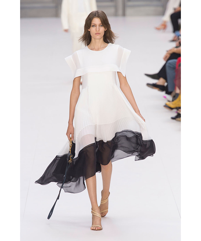 Chloé: the quintessential Chloé girl dress