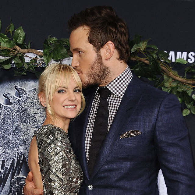 "Chris Pratt and Anna Faris: After eight years of marriage the couple announced on social media in August that they were ""legally separating."""