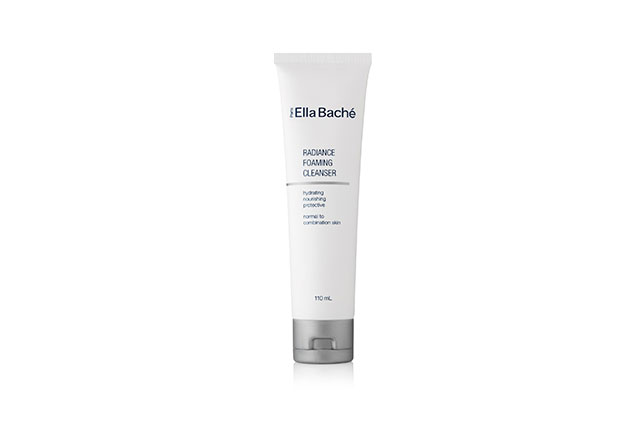 Ella Bache Foaming Cleanser: it's a cream cleanser that leaves you with that clean feeling but doesn't dry my skin out.