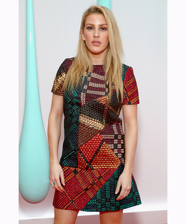 "Ellie Goulding : Though the pair were never official, rumours began to circulate after Goulding was spotted kissing Harry under a blanket at the Audi Polo Challenge in June 2016<p><span style=""font-size: 8pt;"">(Image: Getty)</span></p>"