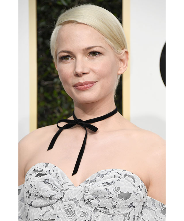 No make-up make-up: Michelle Williams