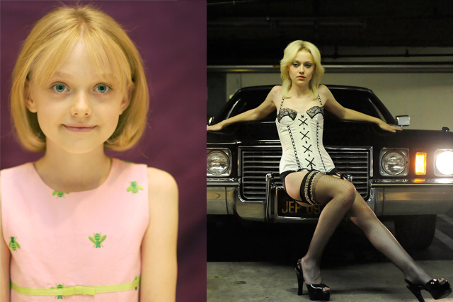 DAKOTA FANNING; Disney productions: Kim Possible, Stitch had a Glitch, My Neighbour Tortoro. Turning point: Portraying troubled frontwoman Cherie Currie in 2010's Runaways alongside Kirsten Stewart.