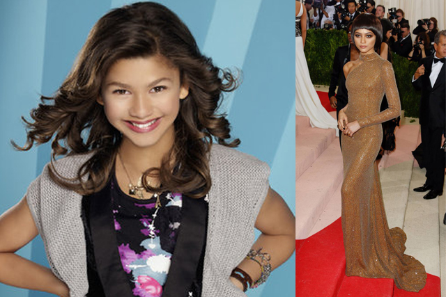 ZENDAYA; Disney productions: Shake it up (among others). Turning point: Since appearing at the MET Gala in 2015, Zendaya has become something of a fashion icon herself, becoming an ambassador for Louis Vuitton.