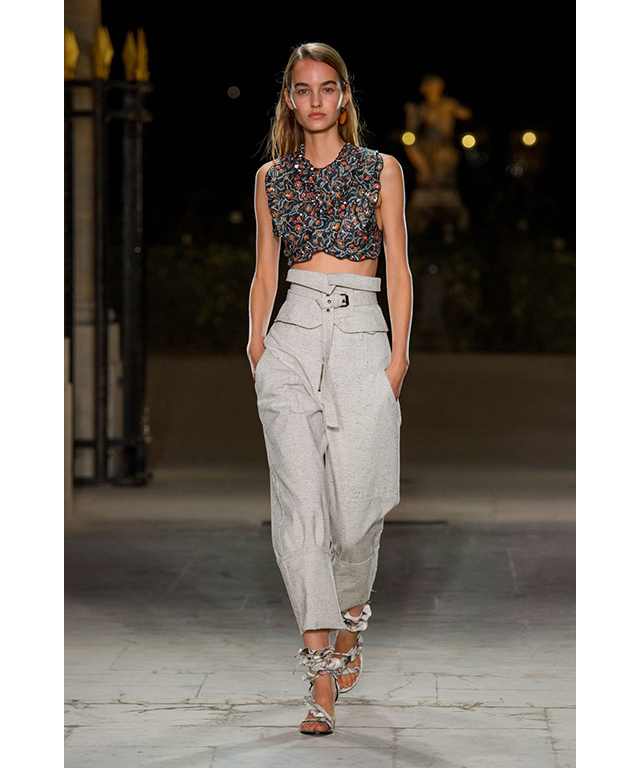 Isabel Marant: elegantly waisted