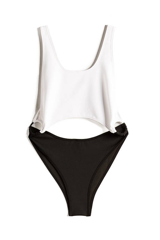 Kendall + Kylie Swim X Revolve Cutout one piece, $173