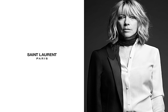 Slimane shot celebrities of Josh Homme, Joni Mitchell, Marianne Faithful, Courtney Love, Kim Gordon and Marilyn Manson's stature, giving the brand credibility and a beyond-the-fashion-walls identity that couldn't help but seduce.