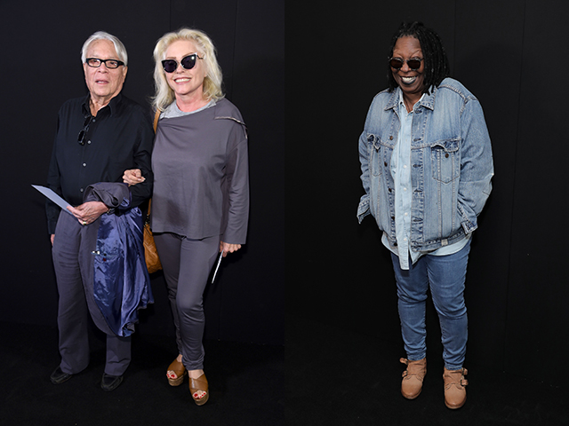 Debbie Harry and Whoopi Goldberg