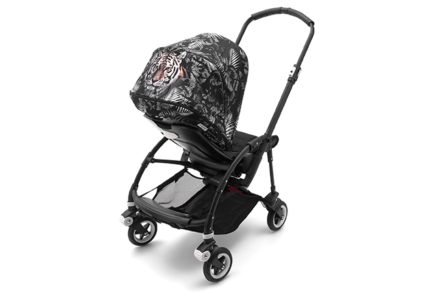 Bugaboo by We Are Handsome Sun Canopy on the Bugaboo Bee5