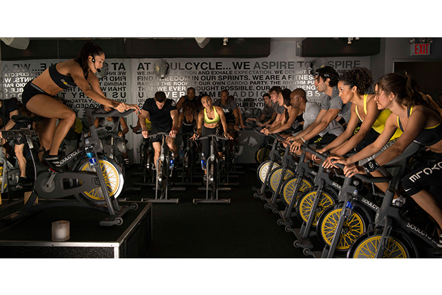 "SoulCycle, New York. If the food of New York has won you over, a good burn might be all you need to maintain equilibrium. Say hello to Soul Cycle, an indoor cycling centre, where each spin class only runs for 45 minutes and includes hand weights and core exercises for a full body work out. The spaces are what make this exercise worth the sweat (and possibly tears). Think candlelight rooms, awesome music and a friendly, community vibe, so you will no longer be feeling like a tourist! You can buy single passes online, so it's a super easy way to support your fitness goals while exploring the city that never sleeps.<p><span style=""font-size: 17px;""><a target=""_blank"" href=""https://www.soul-cycle.com/"">soul-cycle.com</a></span></p>