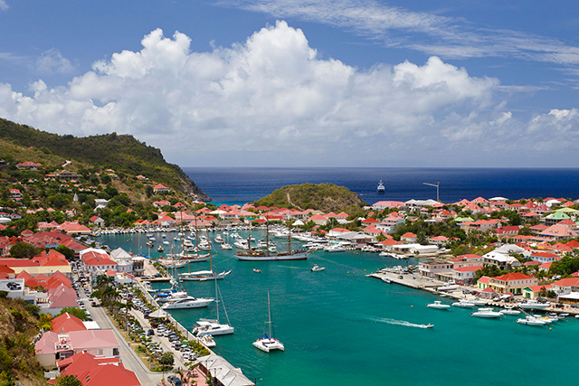 St. Barts: French-speaking playground of the rich and fabulous in the picturesque Caribbean. Victoria's Secret often shoot here, Jessica Alba likes to sun here… Park your yacht next to the other supers, don your Eres bikini and enjoy the people watching.