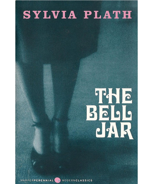 The Bell Jar by Sylvia Plath: a semi-autobiographical account of a young woman's struggle with mental illness.