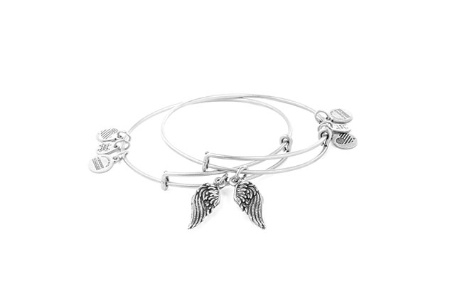 Wings set of two bangles, $85
