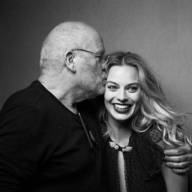 She may profess to be a Gold Coast girl, but she appreciates talent when she sees it. Margot is snapped here with legendary photography Peter Lindbergh for W magazine.