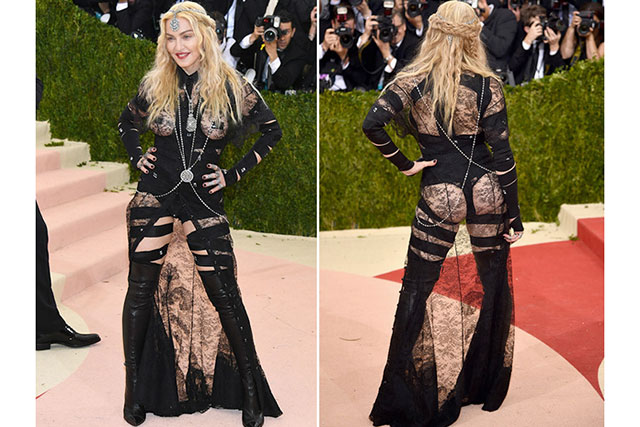 Madonna bares all at the 2016 MET Gala