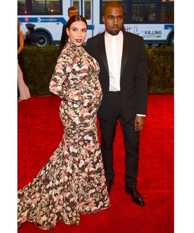 The meme-inspiring Givenchy floral dress Kim Kardashian wore to the Costume Institute Gala in 2013