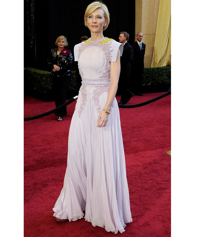 Cate Blanchett in lavender Givenchy couture at the 83rd Annual Academy Awards