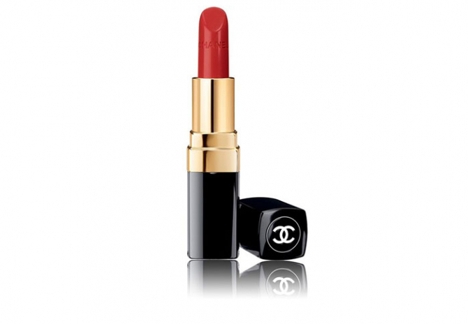 For Christmas day: Chanel Rouge Coco Ultra Hydrating Lip Colour in 444 Gabrille, $52