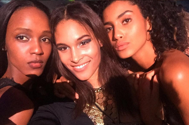 "Who's in your squad? ""My very good friends in the business are Riley Montana, Ophelie Guillermand, Cindy Bruna and Leila Nda."""