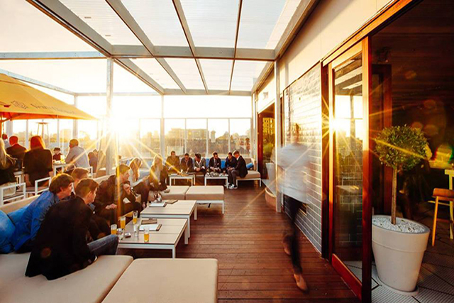 The Emmerson Rooftop: An alfresco extension to club/bar The Emerson, this top end venue overlooks South Yarra and the CBD. Equipped with a retractable roof, outdoor heating, a la carte dining and private booths, it's perfect for a sunset celebration.