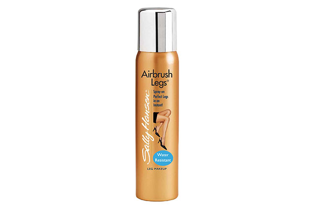 "Sally Hansen Airbrush Legs Tan Glow, $24.95 Chemistwarehouse.com.au: Dubbed as your, ""make-up for the skin"" this cult-followed instant self-tan not only delivers a believable tan, but also will cover in any imperfections on your skin as well."