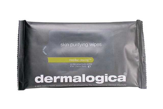 Make-up remover wipes: we all know by now make-up wipes are a big no no when it comes to skincare, but for travel - we make an exception. These hassle free wipes are great for removing any make-up and also doubles as a body refresher for when you land.  Dermalogica Skin Purifying Wipes, $28