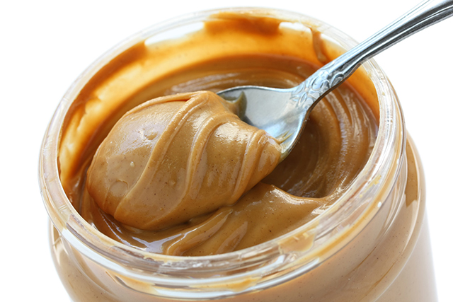 The combination of fat and protein makes peanut butter a fantastic snack option that will keep you feeling satiated and your blood sugar stabilised. When shopping for peanut butter always choose organic (conventional peanuts get sprayed heavily) and ensure it contains nothing but 100% peanuts.