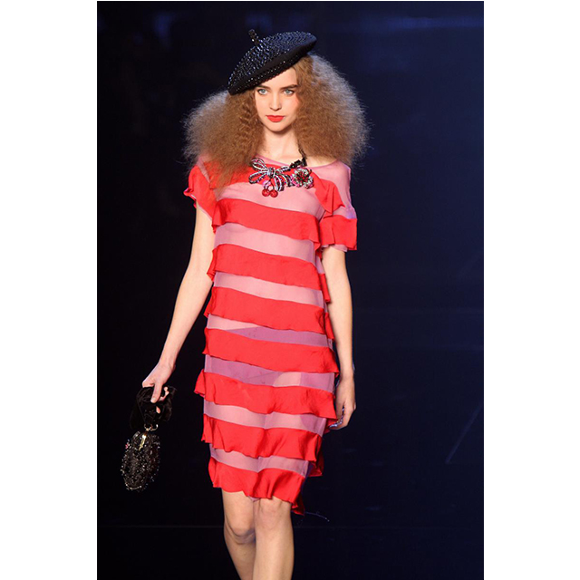 A typically french design at the Sonia Rykiel runway presentation, Spring Summer 2009