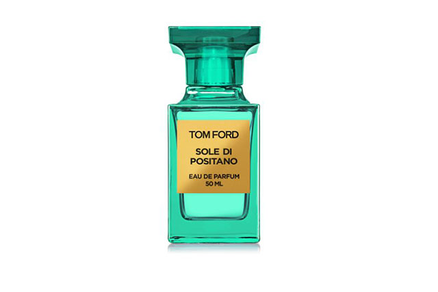 Indulge in a fragrance inspired by the notes of summer to relieve happy summer vibes. Our pick: Tom Ford Sole Di Positano, $340