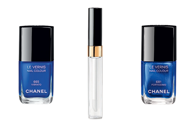 Le Vernis in Vibrato (left) and Fortissimo (right); Gloss Volume Plumping Lip Gloss, $49
