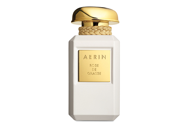 "AERIN Rose de Grasse<p><span style=""font-size: 17px; line-height: 29px;"">A bouquet of the rarest roses has been infused into this exclusive perfume: the hundred-petalled Rose Centifolia, handpicked in Grasse (the French capital of perfumery since the sixteenth-century), Rose Otto Bulgarian, extracted from the red roses of Bulgaria and Turkey, and Rose Absolute, distilled from Turkish roses. Available September 13 from David Jones.&nbsp;</span><span>$290;&nbsp;</span><a target=""_blank"" href=""http://www.esteelauder.com.au/aerin"">esteelauder.com.au/aerin</a>.</p>  <p>&nbsp;</p>  <p>&nbsp;</p>"