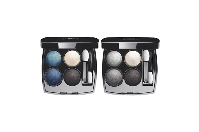 Chanel Les 4 Ombres in Tisse Jazz and Tisse Smoky, $98 each (available September 1)