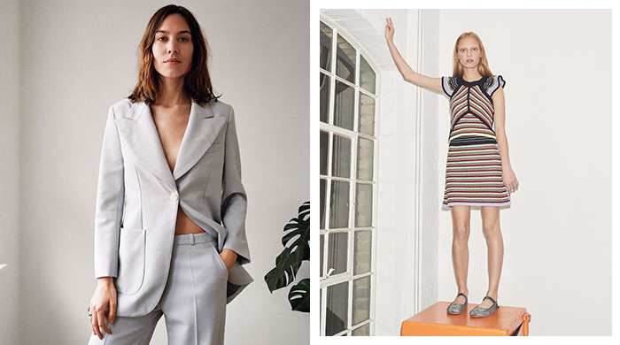 It's here! Alexa Chung finally launches her own label