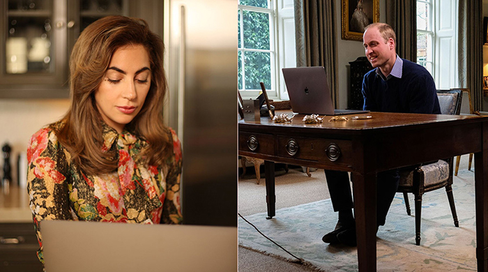 This royal and rockstar's FaceTime chat is the best thing you'll see today