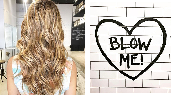 Calling all blow-dry addicts, get a FREE blowout tomorrow