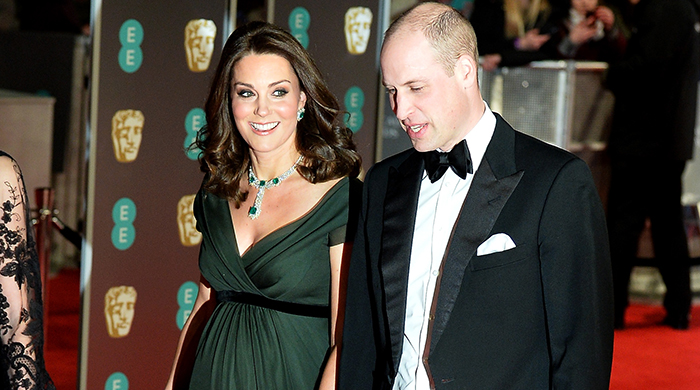 Kate Middleton didn't wear black to the BAFTAs this year