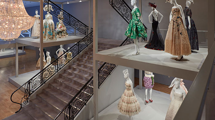 Inside the National Gallery of Victoria's Dior exhibition